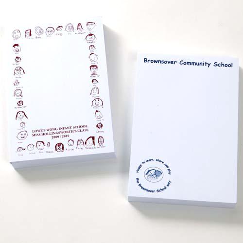 Printed Sticky Notes, Printed Sticky Pads, Sticky Note Pad